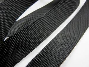 B239 Polypropylene Webbing 20 mm black