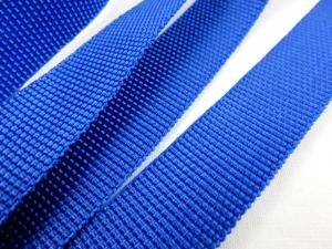 B239 Polypropylene Webbing 20 mm royal blue