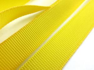 B239 Polypropylene Webbing 20 mm yellow