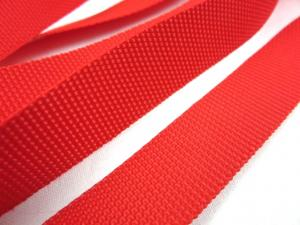 B239 Polypropylene Webbing 20 mm red