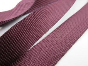 B239 Polypropylene Webbing 20 mm wine red