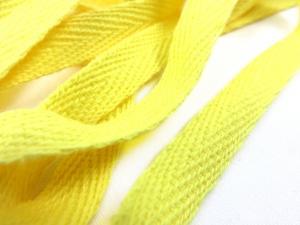 B246 Herringbone Cotton Tape 10 mm yellow