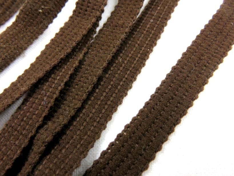 B270 Dekorationsband 10 mm mörkbrun