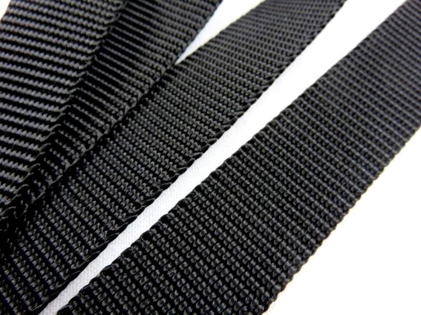 B280 Polypropylenband 20 mm svart