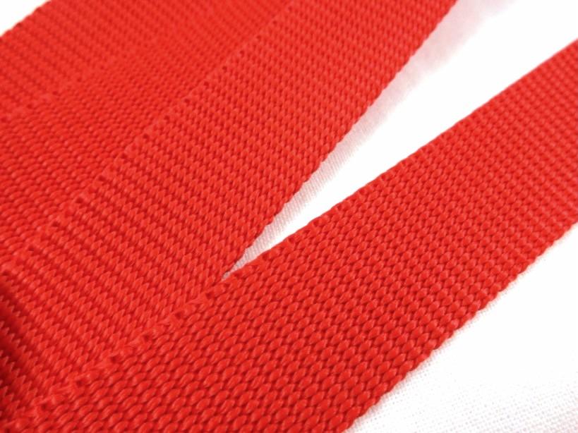 B280 Polypropylene Webbing 20 mm red