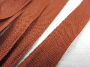 B283 Cotton Tape 12 mm brown