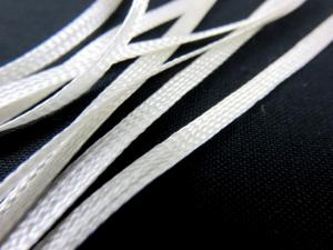 B292 Polyester Ribbon 5 mm offwhite