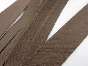 B299 Snedslå bomull 20 mm mörkbrun (20 m)