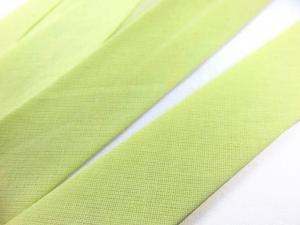 B299 Snedslå bomull 20 mm ljus gulgrön (20 m)