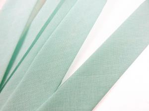 B299 Cotton Bias Binding Tape 20 mm light green (20 m)