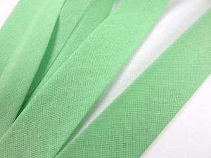 B299 Snedslå bomull 20 mm pastellgrön (20 m)