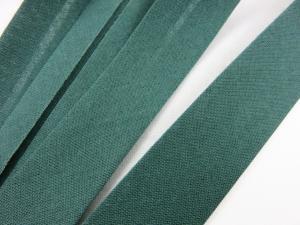 B299 Snedslå bomull 20 mm mörkgrön (20 m)