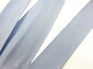 B299 Snedslå bomull 20 mm ljusblå (20 m)