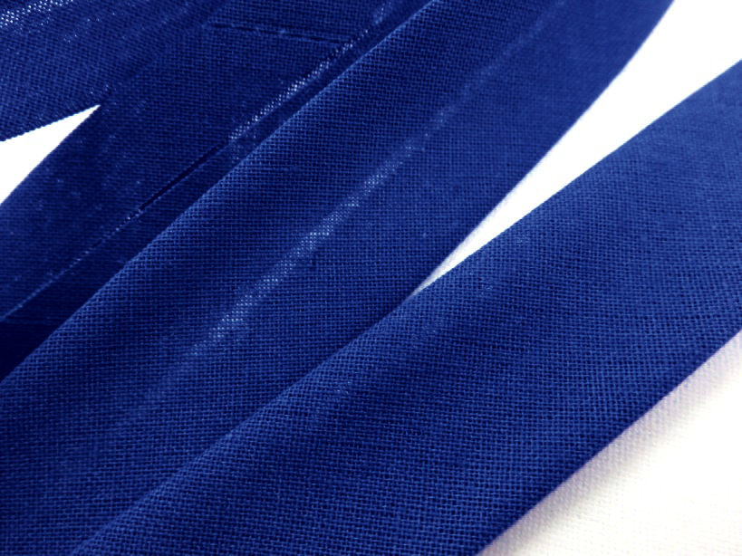 B299 Cotton Bias Binding Tape 20 mm royal blue (20 m)