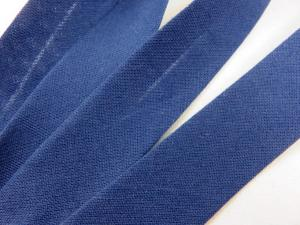 B299 Snedslå bomull 20 mm mörkblå (20 m)