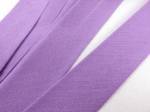 B299 Cotton Bias Binding Tape 20 mm light purple (20 m)