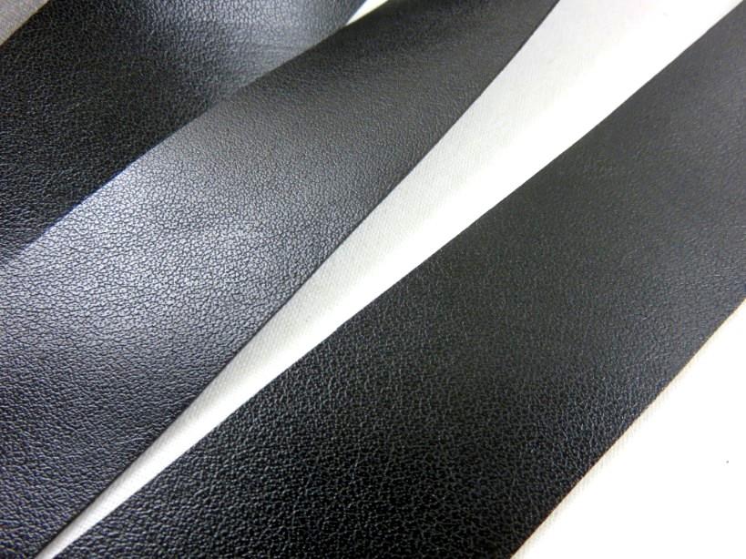 B304 Band i konstskinn 30 mm svart (2:a sort)
