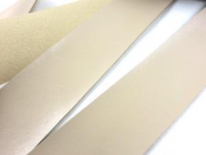 B304 Band i konstskinn 30 mm beige