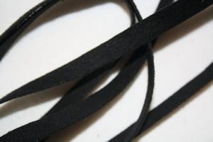 B330 Fuskmoccaband 8 mm svart (11,7 m)
