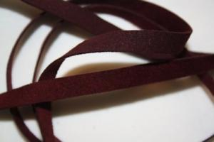 B330 Faux Suede Tape 8 mm wine red (1 + 1 m)