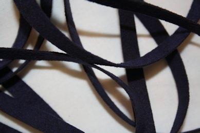 B330 Faux Suede Tape 8 mm dark blue (4 + 4 m)