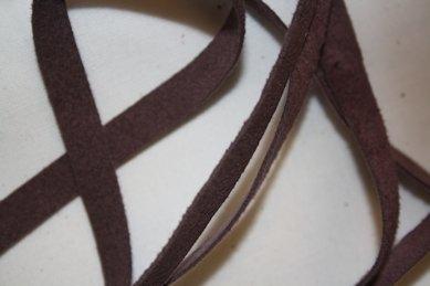 B330 Faux Suede Tape 8 mm purple (1 + 1 m)