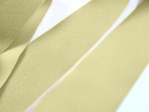 B336 Kardborrband 100 mm beige (komplett)
