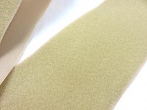 B336 Kardborrband 100 mm beige (mjuk)
