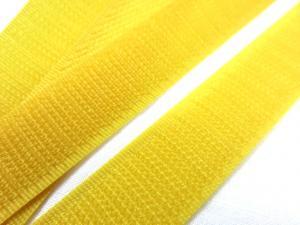 B336 Kardborrband 20 mm gul (hård)