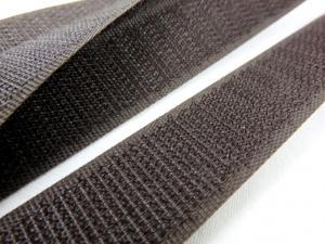B336 Kardborrband 20 mm brun (hård)