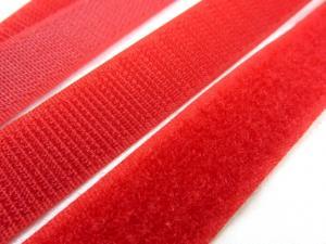 B336 Kardborrband 20 mm röd (komplett)