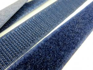 B336 Kardborrband 20 mm mörkblå (komplett)