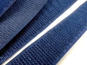 B336 Kardborrband 20 mm mörkblå (hård)