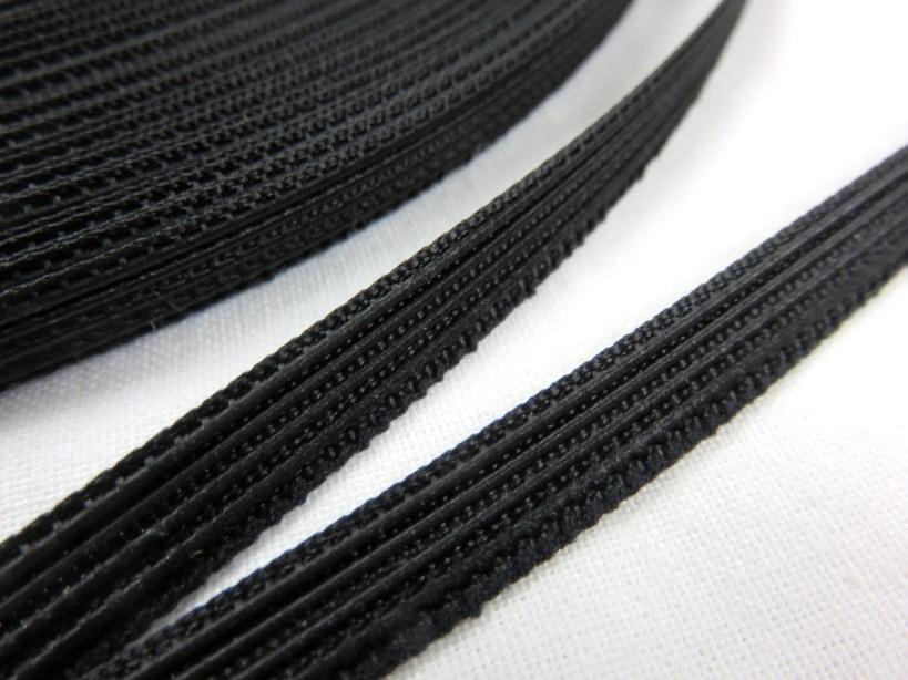 B369 Plastic Boning for Corset 6 mm black