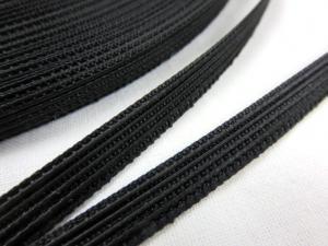 B369 Korsettfjäder 6 mm svart