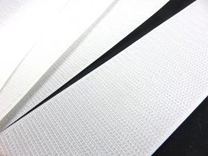 B372 Kardborrband 50 mm vit (hård)