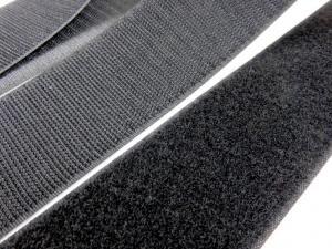 B372 Kardborrband 50 mm svart (komplett)