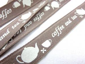 B374 Band 15 mm kaffe och te