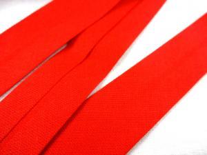 B386 Snedslå bomull 20 mm röd (3 m)