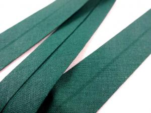B386 Cotton Bias Binding Tape 20 mm dark green (3 m)