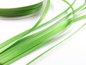 B426 Satinband 3 mm limegrön (10 m)