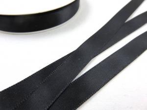 B426 Satinband 10 mm svart (10 m)