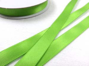 B426 Satinband 10 mm limegrön (10 m)