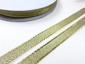 B427 Lurexband 6 mm guld (10 m)