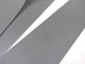B428 Reflexband 50 mm silver