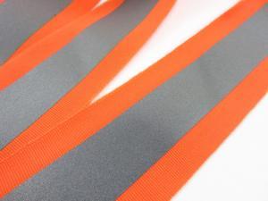 B430 Reflective Tape stripe 50 mm orange/silver