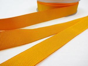 B437 Ripsband 18 mm senapsgul