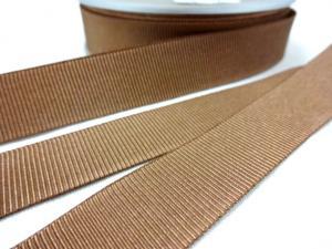 B437 Ripsband 18 mm beige
