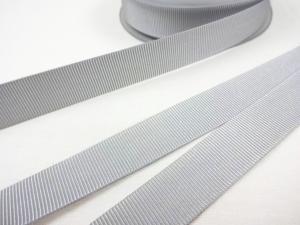 B437 Grosgrain Ribbon 18 mm light grey