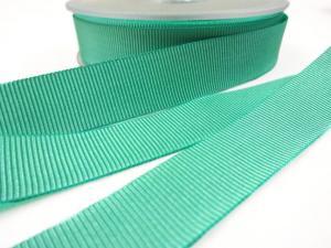 B437 Ripsband 18 mm grön